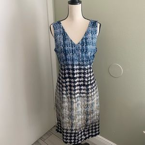 Worthington Lined Multi pattern Dress